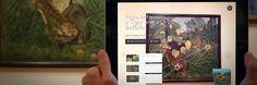 Aplikacja ArtLens osobisty przewodnik dla zwiedzających muzeum w Clevleand. pomaga odwiedzającym odkrywać dzieła, zachęca użytkowników do tworzenia własnych spersonalizowanych wycieczek,