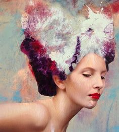 Fairy Flower. Lita Cabellut