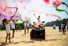 A Fun-filled Goa Wedding With Pre-Wedding Holi Function! Goa Wedding, Wedding Book, Wedding Vendors, Wedding Couples, Destination Wedding, Indian Wedding Planning, Wedding Planning Websites, Indian Wedding Photography, Couple Photography