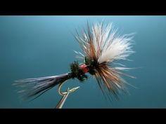 "[HD] Fly tying / Royal Wulff. ロイヤルウルフをフライタイイング / フライフィッシング / Fly fishing ""FlyTier's Eyes. No.33"""