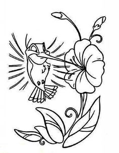 hummingbird coloring pages Follow Your Heart NEW STAMP LINE