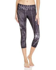 Onzie Cropped Printed Leggings | Bloomingdale's Printed Leggings, Women's Leggings, Active Wear, Capri Pants, Pajama Pants, Pajamas, Prints, Shopping, Fashion