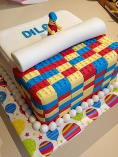 Lego Cake for Dilan By MaloSlatko on CakeCentral.com