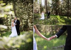 This rustic wedding venue is hidden in the middle of a vibrant forest. We love the quiet moments @TangledLilacPho captured of the bride and groom. #romantic #weddingphotography #poses #inspiration