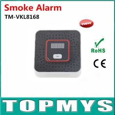 Smoke Detector Photoelectric Independent  Natural Gas leak Detector Poisoning Alarm home security safety Alarm