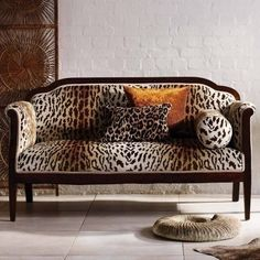 Pantanal Velvet Fabric - An opulent velvet fabric named after the South American nature reserve inhabited by ocelot. It features a flock ocelot design printed in chocolate brown on an ivory and bronze ombré ground Sofa Design, Interior Design, Osborne And Little, Velvet Upholstery Fabric, Chair Fabric, Upholstered Furniture, Casamance, Transitional Living Rooms, Marquise