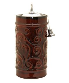 Love this Ruby Francio Ceramic Oil Torch by Outdoor Interiors on #zulily! #zulilyfinds