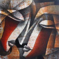 Jagannath Paul, 1976 | Abstract Figurative painter | Tutt'Art@