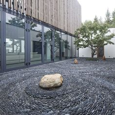 Japanese Inspired Courtyard Ideas