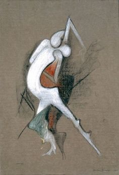Tango, Charcoal and conté crayon on paper, Dorothea Tanning, Surreal Art, Artist Art, Tango, Erotica, In This World, Illustration Art, Art Illustrations, Alice