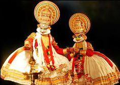 kathakali dance (folk dance of kerala)