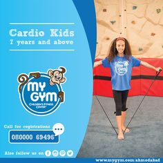 Our fast paced Cardio Kids class is the perfect workout for kids 7-10 years. These kids are an inspiration to stay fit and healthy! Visit our Website: http://www.mygym.com/ahmedabad #MyGym #MyGymFun #TerrificTots #MyGymAhmedabad #ComingSoon #Physical #Social #Cognitive #Emotional #Development #InteractiveSkill #Tumbling #Agility #Songs #Dance #PuppetShows #Swings #Adventure #ALotMoreToCome #Christmas #Ahmedabad #Gujarat
