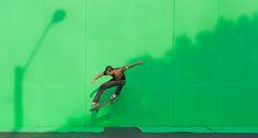 Green Screen Skateboard Photography