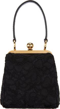 Mini Agatha Frame Bag - Dolce Gabbana