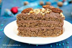 tort-nuca-si-rom-rama Banana Bread, Sweets, Desserts, Food, Tailgate Desserts, Deserts, Good Stocking Stuffers, Candy, Eten