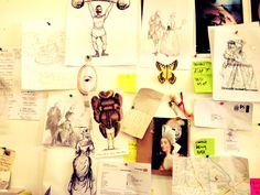 UAL governor, Anya Hindmarch, reveals her catwalk show creative inspiration board for London Fashion Week