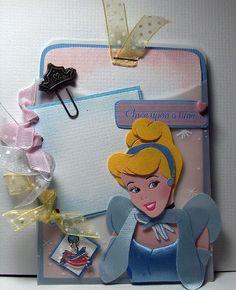 °o° Disney Cinderella Journaling pocket - Two Peas in a Bucket