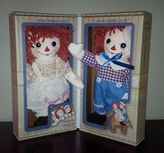Raggedy Ann & Andy Vintage Sleep/Awake Doll Set - Numbered Ltd. Edition - #15449 #AuroraWorld