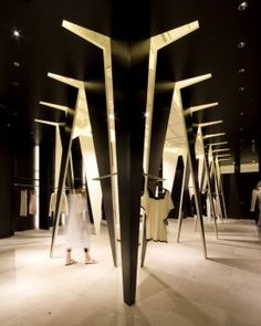 Ladies apparel shop in Funabashi, Japan by Sinato architects // http://www.sinato.jp/