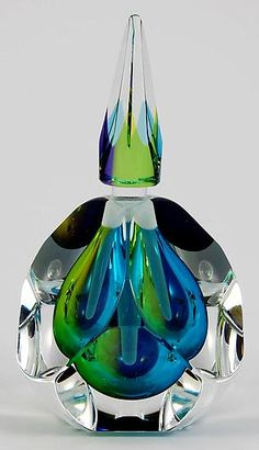 Pacific Perfume Bottle: Paul D. Harrie: Glass Perfume Bottle - Artful Home