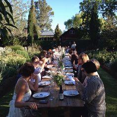 @luisabrimble | Here we go the first ever Kinfolk Dinner Series in Australia. #kinfolkaustralia...