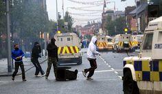 photos of belfast riots | Belfast sectarian riots: Belfast sectarian riots