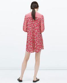 ZARA - WOMAN - COMBINED PRINTED DRESS