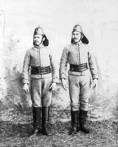 Ottoman Fire-Brigade soldiers.