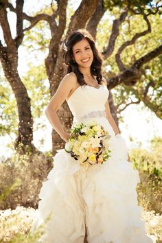 California Winery Wedding At Cellar 360 Vineyard | Photograph by A.Blake Photography  http://www.storyboardwedding.com/modern-california-winery-wedding-al-fresco-purple-yellow/