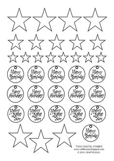 Free+Digital+Stamp+Downloads | crafticious: New Year - Free Download & Digital Stamps
