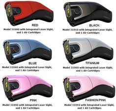 The TASER® C2 Personal Protection Device gives you all the safety you need. With 50,000 volts running in 30-second cycles, your attacker will be sorry they ever tried to touch you. Check out the different color schemes!
