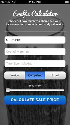 craft calculator for iphone