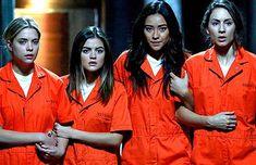 Pretty Little Liars Finale Sneak Peek Liars Are in Orange Jumpsuits Is Everyone Going to Jail?