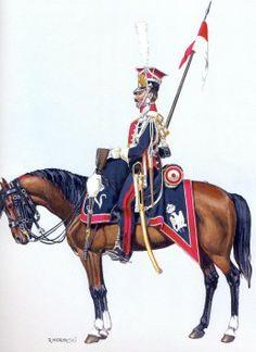 Les chevau-légers lanciers Polonais de la Garde - Trompette de… - Histoire du 1er Rgt… - 1er Empire et Nos Polonais