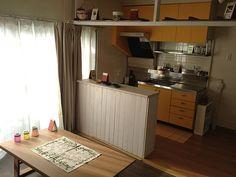 カラーボックスでキッチンカウンターを作るも・・・