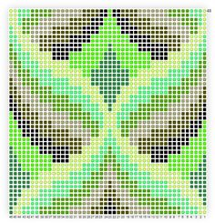 Bargello Pattern #1-In case I ever lose my mind and think I need a challenge.