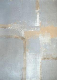 Original Grey and Beige Art by T30Gallery