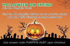 !HALLOWEEN SPECIAL - SAVE 25%!  Join the Pumpkin Hunt! We hid 45 pumpkins on our product photos. If you find one of them you can use the coupon code PUMPKIN-HUNT upon checkout and get a 25% discount on that colorway.  The Pumpkin Hunt is starting today and will end on November 1st.  How many pumpkins can you find?