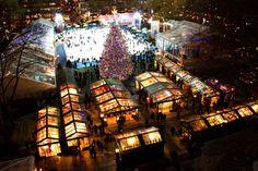 Holiday markets, craft fairs and seasonal markets in New York City