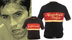 Eddy Merckx wool cycling jersey