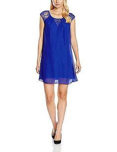 UK 6, Blue ( Bleu ), Naf Naf Women's Konty R1 Dress NEW