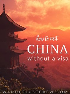 How to Visit China Without a Visa. Learn the ins and outs of how to visit China without needing a visa. Learn which cities are best to visit and what to do on your layover in China. #China #Layover #Visa China Travel Guide, Asia Travel, Japan Travel, Travel Advice, Travel Guides, Travel Tips, Travel Articles, Budget Travel, In China
