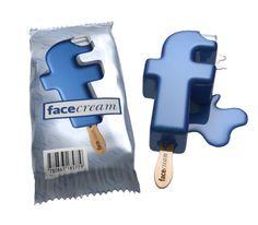 Passend zum #Sommer: #Facebook #Ice #Cream | by Tomislav Zvonarić