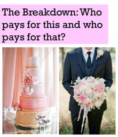 Wedding Breakdown: Who pays for this and who pays for that? Allyson VinZant Events Blog| The blog about all things weddings in Oklahoma