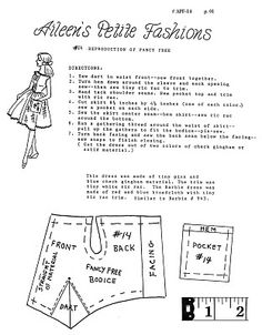 Arte e croche: Moldes de roupas para barbie