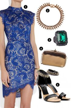 Sexy and sophisticated outfit inspiration for a glam girls' night out