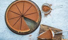 Τάρτα με κρέμα σοκολάτα-καφέ