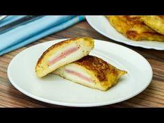 Un mic dejun extrem de delicios, gata în doar 20 de minute! Toast cu șuncă și cașcaval. - YouTube