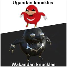 Wakandan knuckles #funnypictures