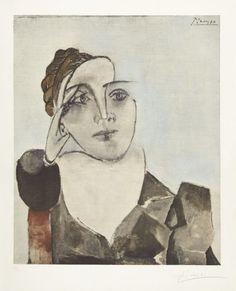 Pablo Picasso - Portrait of Dora Maar, 1936.